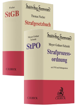Fischer sowie Meyer-Goßner/Schmitt, 65. Auflage / 61. Auflage